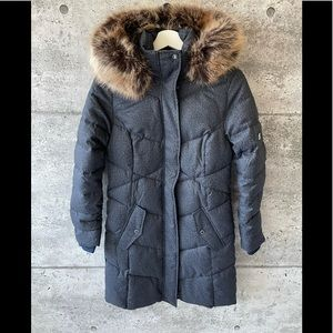 Barbour Women's Sternway Quilted Jacket Navy Marl